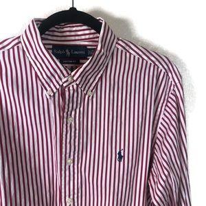 Ralph Lauren   Custom Fit Dress Shirt Size 16.5